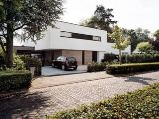 Vooraanzicht:  Huizen door BB architecten