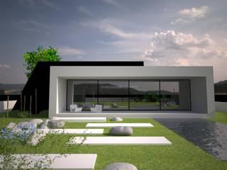 วิลล่า โดย Andreia Anjos - Arquitectura, Design e Construção, โมเดิร์น
