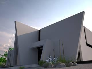 Sintra - SRF Lote 15: Moradias  por Andreia Anjos - Arquitectura, Design e Construção,Moderno