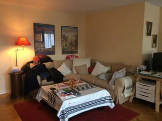 Salon et chambre à Courbevoie:  de style  par Nuance d'intérieur