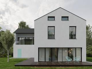 Dom na Ołtaszynie: styl , w kategorii  zaprojektowany przez Marmur Studio