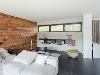 Wohnen:  Wohnzimmer von habes-architektur