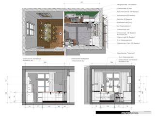 Planung Küche:   von habes-architektur