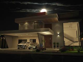 ARQUITETURA E INTERIORES: Casas  por Schwartz Arquitetura