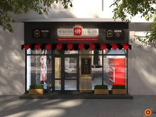 Artichok Design Offices & stores Black