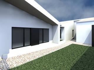Casa SP - Render: Casas  por 2FCS - Arquitectura e Decoração