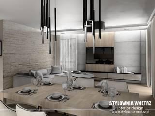 Modern living room by Stylownia Wnętrz Modern