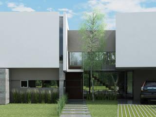 Casa R-R de Estudio D3B Arquitectos Moderno Hormigón