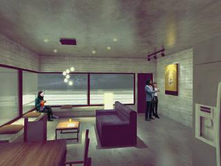 Perspectiva interior : Condominios de estilo  por Aformal
