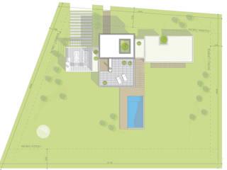 Casa La Elina:  de estilo  por Estudio D3B Arquitectos