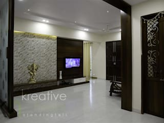 Living room by KREATIVE HOUSE