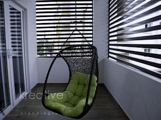 Corridor & hallway by KREATIVE HOUSE