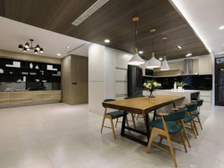 人文自然派的no.229舍-場景-餐廚 根據 喬克諾空間設計 隨意取材風