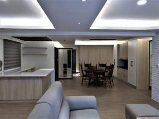 清質暖居 根據 喬克諾空間設計 隨意取材風