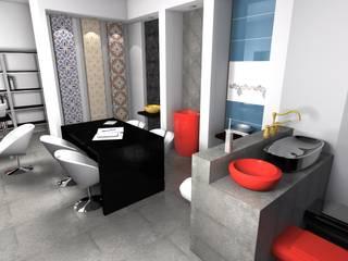 Alsancak Ofis Projesi e.a Interior Design Minimalist