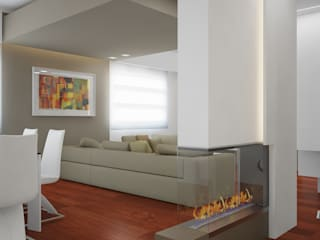 modern Living room by olivia Sciuto