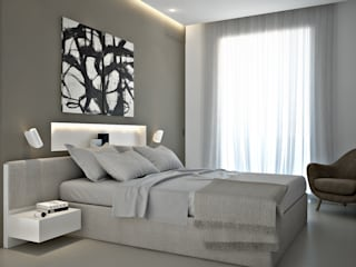 modern Bedroom by olivia Sciuto