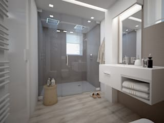 modern Bathroom by olivia Sciuto