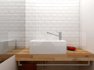 Modern bathroom by spacelovers Modern