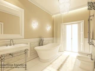 Stanza da bagno - appartamento privato: Bagno in stile in stile Moderno di valentina bandera STUDIO