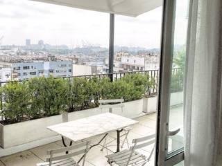 terraza Balcones y terrazas eclécticos de FAARQ - Facundo Arana Arquitecto & asoc. Ecléctico