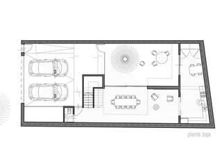 Casa BFM:  de estilo  por MINUÉ Arquitectura