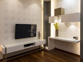 Prestige White meadows - 47:  Media room by NVT Quality Build solution