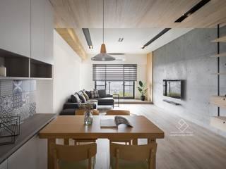 Ruang Makan by 極簡室內設計 Simple Design Studio
