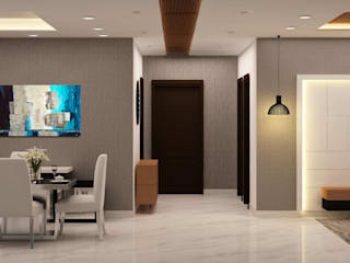 passage Asian style doors by homify Asian