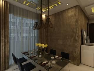 غرفة السفرة تنفيذ Regalias India Interiors & Infrastructure