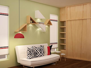 Family room Modern walls & floors by homify Modern