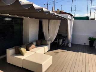 Balcones y terrazas de estilo moderno de ecojardí Moderno