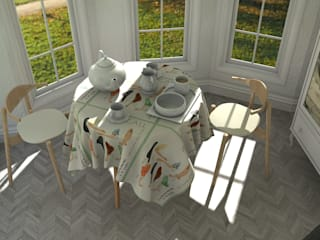 Dining room by Blophome, Modern