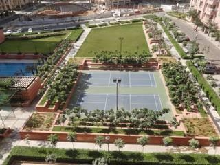 Ashiana Rangoli Gardens Modern garden by NMP Design Modern