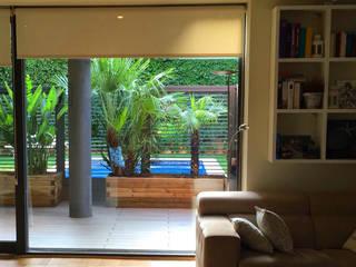 Modern Balkon, Veranda & Teras ecojardí Modern