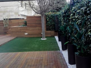 Jardins modernos por ecojardí Moderno