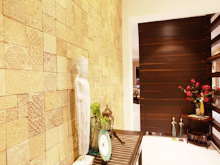 Saloni Narayankar Interiors Modern Corridor, Hallway and Staircase
