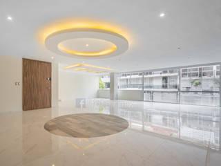 Living room by FOTOIMX: Fotógrafo de Inmuebles en CDMX