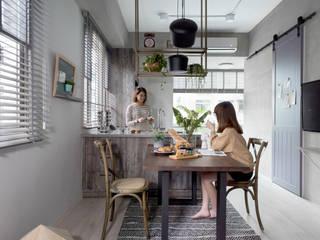 Scandinavische eetkamers van 寓子設計 Scandinavisch