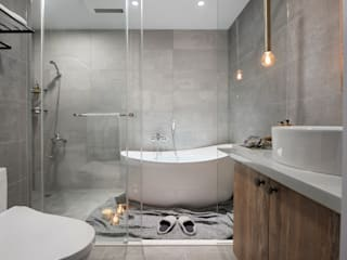 Baños de estilo  por 寓子設計
