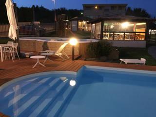Svitavvita Snc 庭院泳池