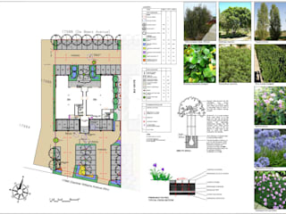 office landscaping plan for council approval:   by Lemontree Landscape architecture and Design