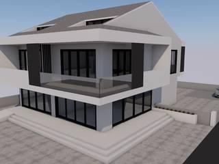 LEYLA ERCAN MİMARLIK – AKÇAY APARTMANI:  tarz Evler