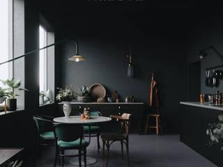 Artilleriet Tribute: Cocinas de estilo  por VM Rendering