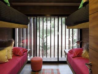 Casa S & S Dormitorios minimalistas de Besonías Almeida arquitectos Minimalista Hormigón