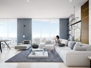 Apartamento de lujo de Homeshopper Moderno
