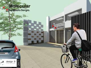 Año 2017 – Trabajo de Diseño - Local comercial Mauro Sergio. Galerías y espacios comerciales de estilo moderno de Design 9 - Experiencia Conectiva Moderno