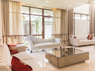Luxury living room Modern living room by homify Modern