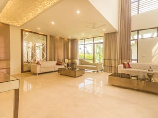 Elegant Living room :  Living room by NVT Quality Build solution