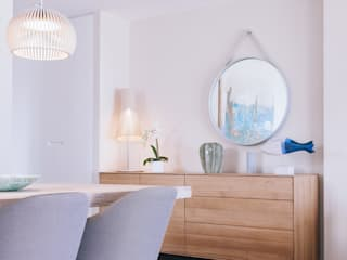 Reforma interior vivienda Salones de estilo minimalista de Oslätt Minimalista